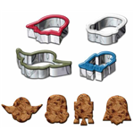 Star Wars Cookie Cutter 4-Pack