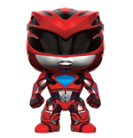 Power Rangers POP! Movies Vinyl Figure Red Ranger 9 cm