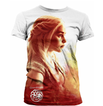 Game of Thrones Ladies Sublimation T-Shirt Daenerys Heatwave