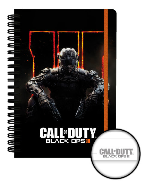 Call of Duty Black Ops 3 A5 Notebook