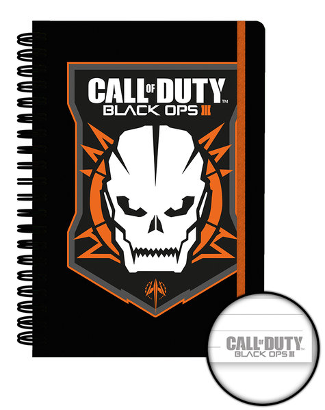 Call of Duty Black Ops 3 Logo A5 Notebook