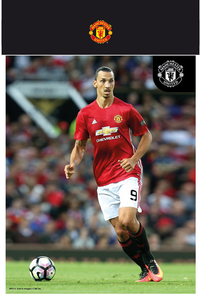 "MANCHESTER UNITED Ibrahimovic 16/17 10"" x 8"" Bagged Photographic"