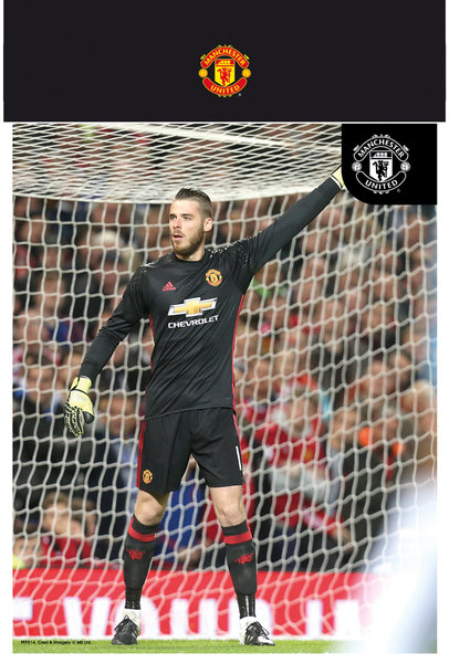 "MANCHESTER UNITED De Gea 16/17 10"" x 8"" Bagged Photographic"