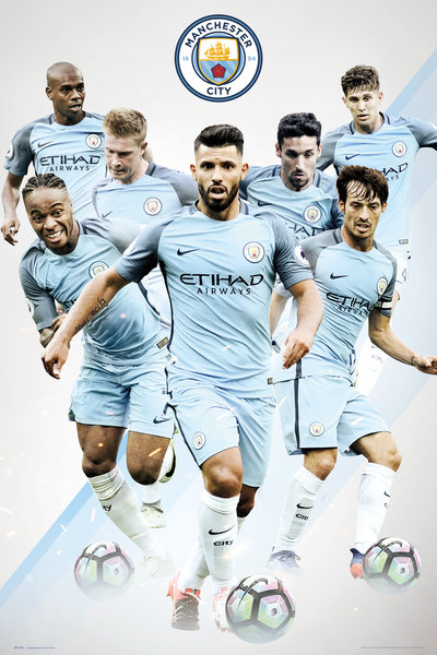 MANCHESTER CITY Players Maxi Poster