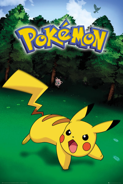 Pokemon Pikachu Catch Maxi Poster