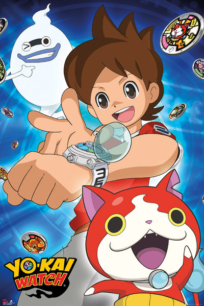 Yo-Kai Watch Trio Maxi Poster