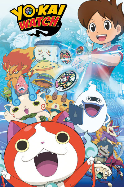 Yo-Kai Watch Key Art Maxi Poster