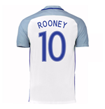 2016-17 England Home Shirt (Rooney 10)