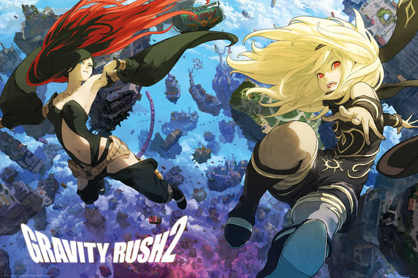 GRAVITY RUSH 2 Key Art Maxi Poster
