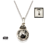 Star Wars Episode VII Necklace BB-8 46 cm (Sterling Silver)