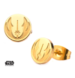Star Wars Earrings Jedi Order Symbol (gold plated)