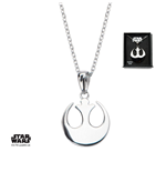 Star Wars Necklace Rebel Alliance Symbol 46 cm (Sterling Silver)