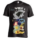 Game of Thrones T-Shirt Westeros Sigils Map