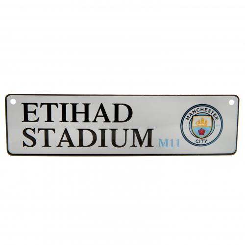 Manchester City F.C. Window Sign