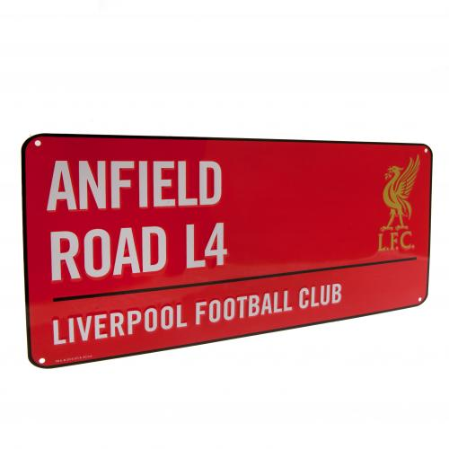 Liverpool F.C. Street Sign RD