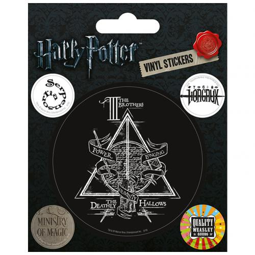 Harry Potter Stickers Deathly Hallows