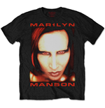 Marilyn Manson Men's Tee: Bigger than Satan