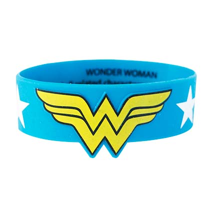 WONDER WOMAN Rubber Bracelet