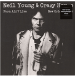 Vynil Neil Young & Crazy Horse - Live At Farm Aid 7 In New Orleans September 19 1994
