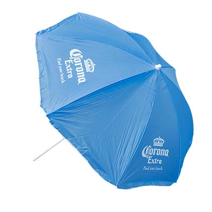 CORONA EXTRA Light Blue Beach Umbrella
