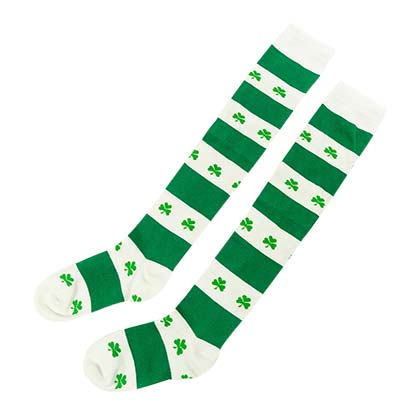 Irish St Patrick's Day Women's Shamrock Socks