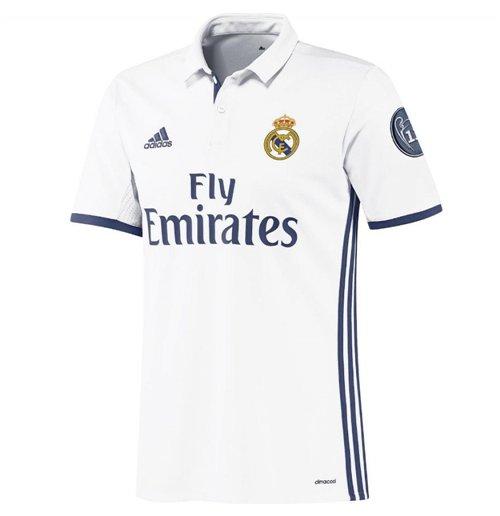 2016 2017 Real Madrid Adidas UCL Home Shirt (Kids)