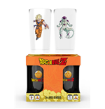 Dragon ball Z Glass Set - Goku Vs Frieza Large
