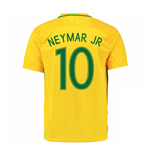 2016-17 Brazil Home Shirt (Neymar JR 10)