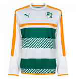 2016-2017 Ivory Coast Puma Training Sweat Top (White)
