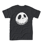 Nightmare Before Christmas T-Shirt Cracked Face
