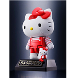 Hello Kitty Chogokin Diecast Action Figure Red Stripe Ver. 10 cm