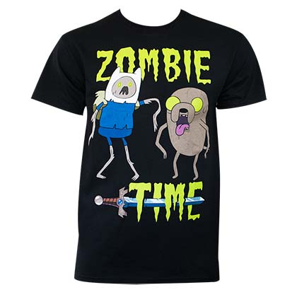 ADVENTURE TIME Zombie Time Tee Shirt