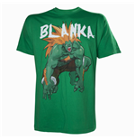 CAPCOM StreetFighter Men's Blanka T-Shirt, Medium, Green