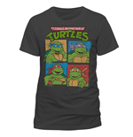 Teenage Mutant Ninja Turtles - Group - Unisex T-shirt Grey