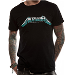 Metallica - Mop Blue Poster - Unisex T-shirt Black