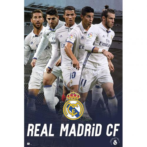 Real Madrid F.C. Poster Players 45