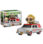 Ghostbusters 2016 POP! Rides Vinyl Vehicle with Figure ECTO-1 & Jullian Holtzmann 18 cm