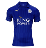 2016-2017 Leicester City Puma Home Football Shirt (Kids)