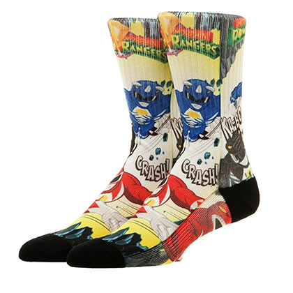 POWER RANGERS Men's Crew Socks