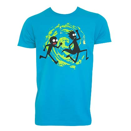 Rick And Morty Swirl Tee Shirt