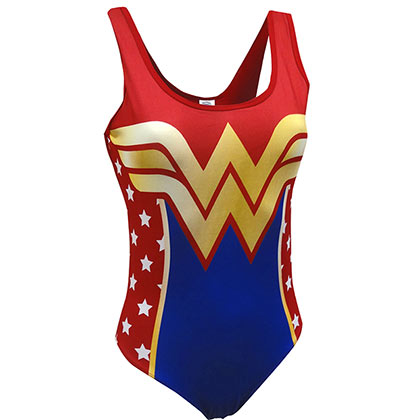 WONDER WOMAN Logo Bodysuit