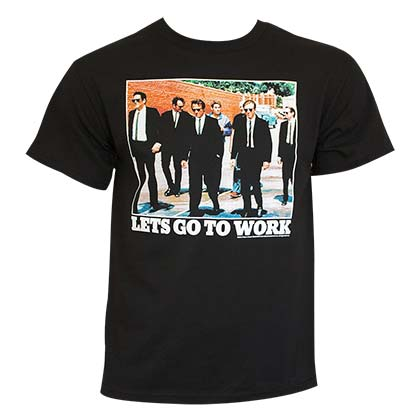 RESERVOIR DOGS Let's Go To Work Tee Shirt