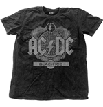 AC/DC Men's Fashion Tee: Black Ice