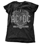 AC/DC Ladies Fashion Tee: Black Ice