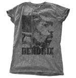 Jimi Hendrix Ladies Fashion Tee: Let Me Live