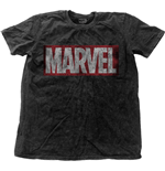 Marvel Comics Men's Fashion Tee: Vintage Logo