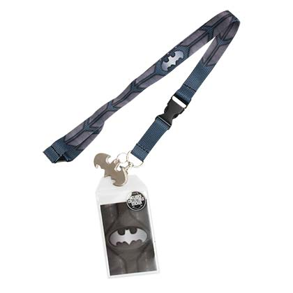 BATMAN Grey Lanyard