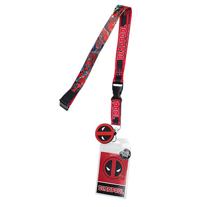 DEADPOOL Red Lanyard
