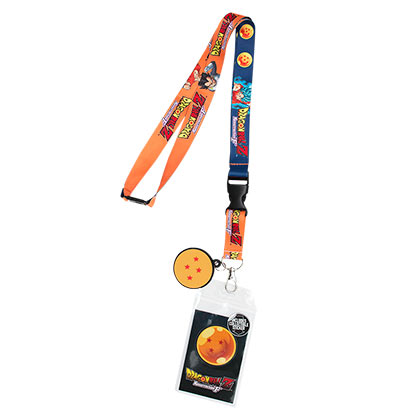 Dragonball Z Orange Lanyard