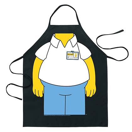 The SIMPSONS Adult Homer Costume Apron